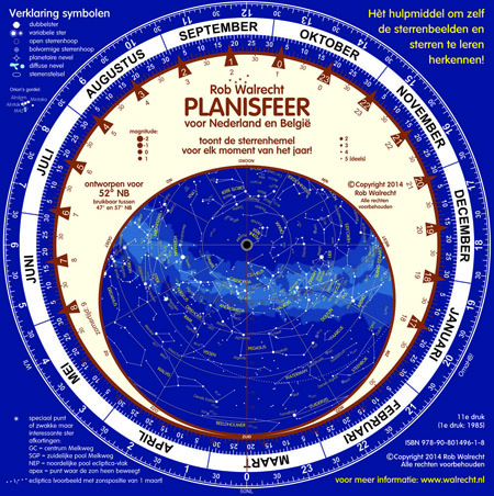 The new Dutch Planisphere (PLN-NL), the 11th edition since 1985